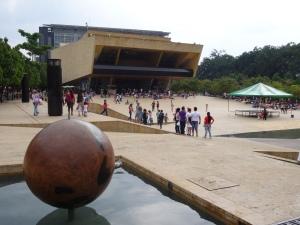 La Casa de la Cultura, situada en el Parque de los Deseos